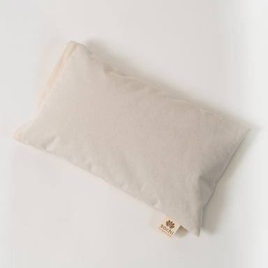 organic buckwheat hull pillow