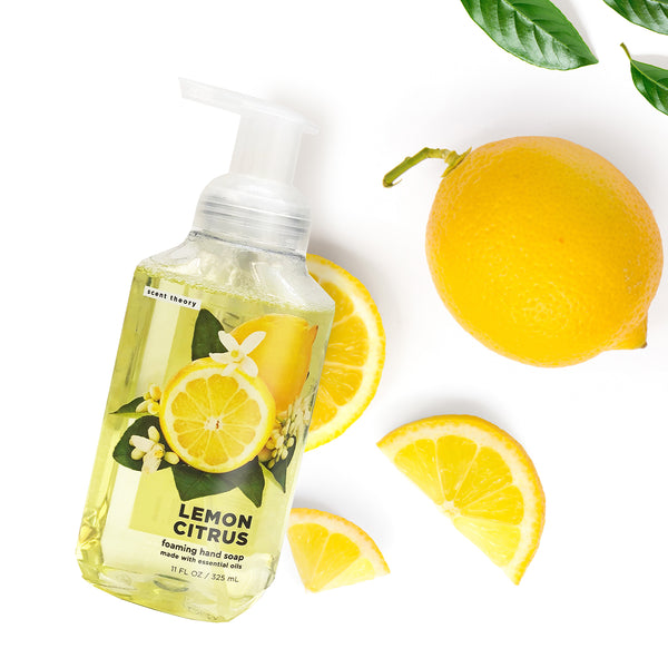 Lemon Citrus Foaming Hand Soap