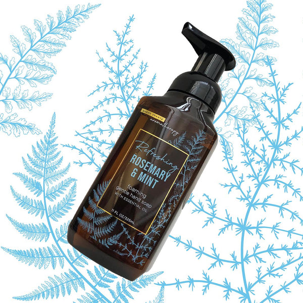 Aromatherapy - Refreshing - Rosemary & Mint Foaming Hand Soap