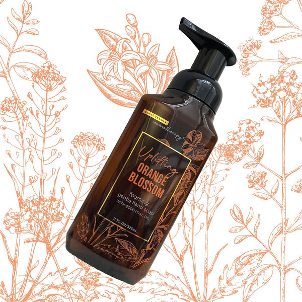 Aromatherapy - Uplifting - Orange Blossom Foaming Hand Soap