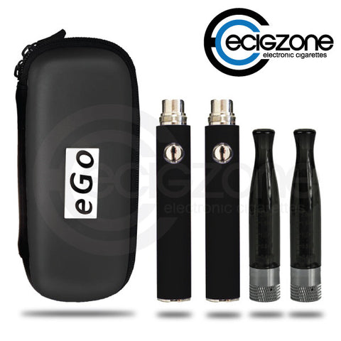 Black EVOD-H2 Electronic Cigarette Starter Kit