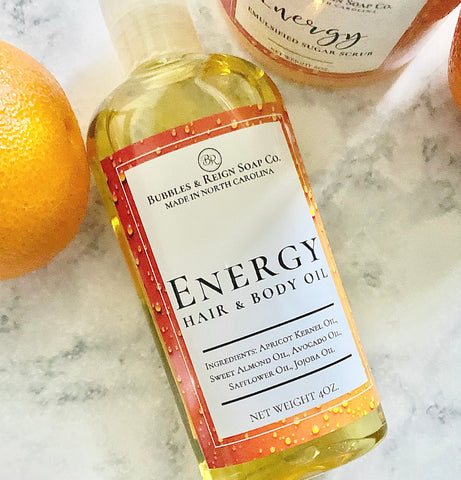 Energy Hair & Body Oil