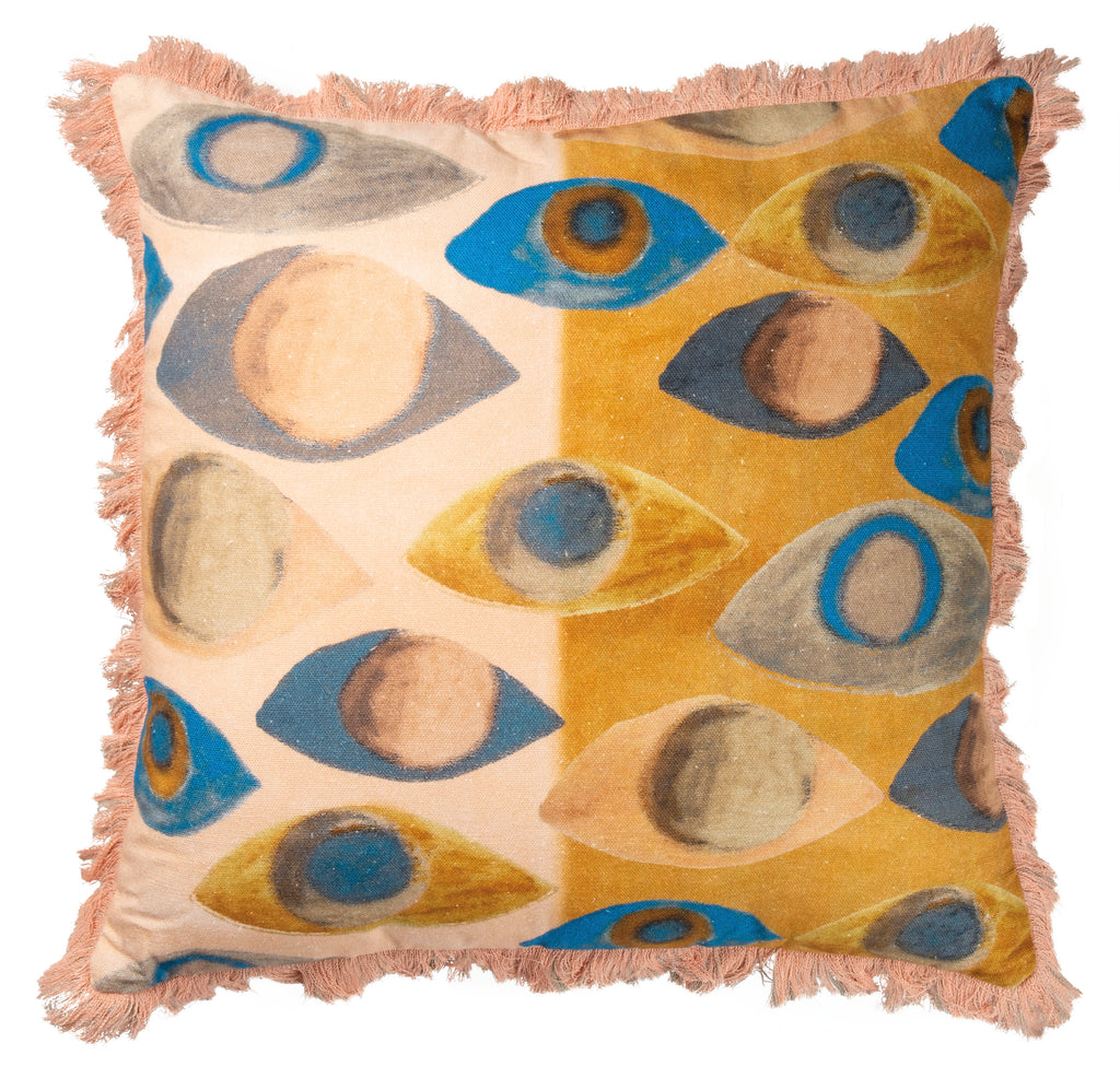 Colorful Eyes Pillow