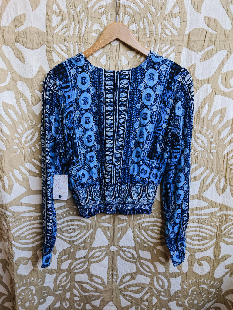 Blue free people Top, S