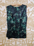 Green/Black Elie Tahari Top, L