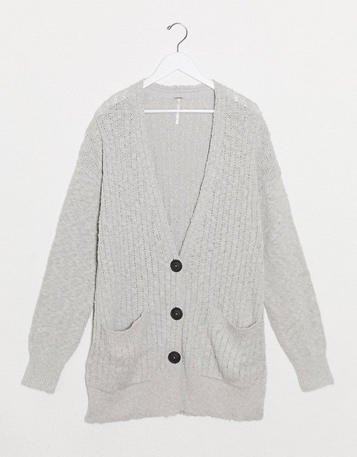 free people Cardigan in Grey, M