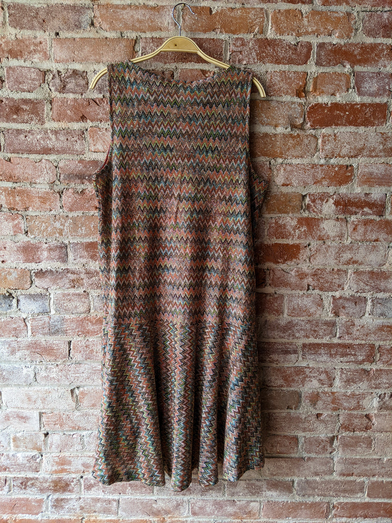 Pink/Tan Maeve Dress, L