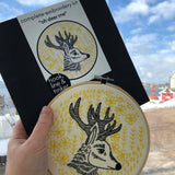 Oh Deer Me Embroidery Kit