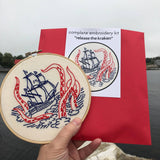 Release the Kraken Embroidery Kit