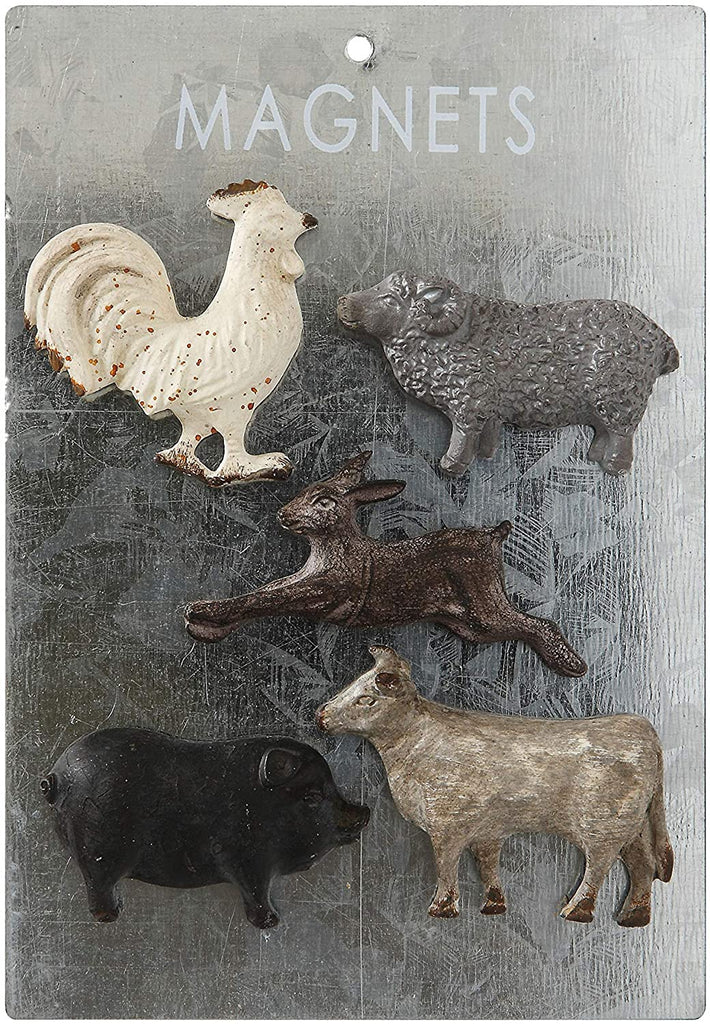 Animals Magnets, Set of 5