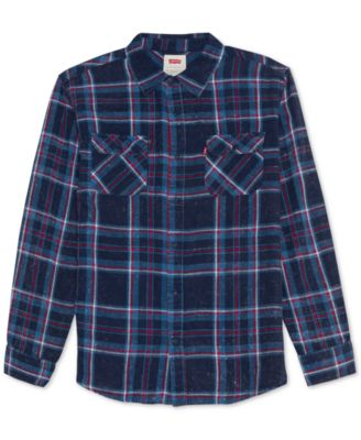 Levi's Yarn-Dyed Flannel Shirt, L