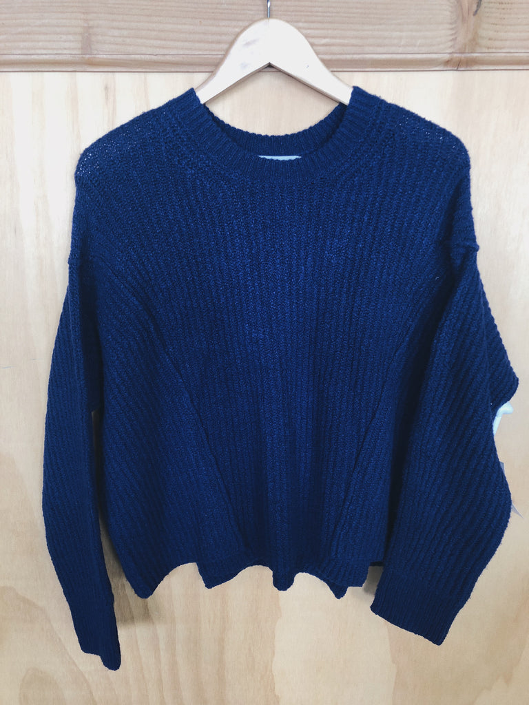 Vince Sweater in Blue, XS