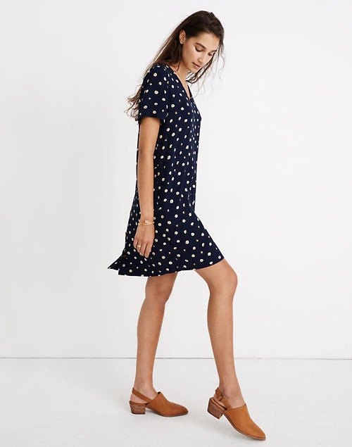 Navy Madewell Dress, L