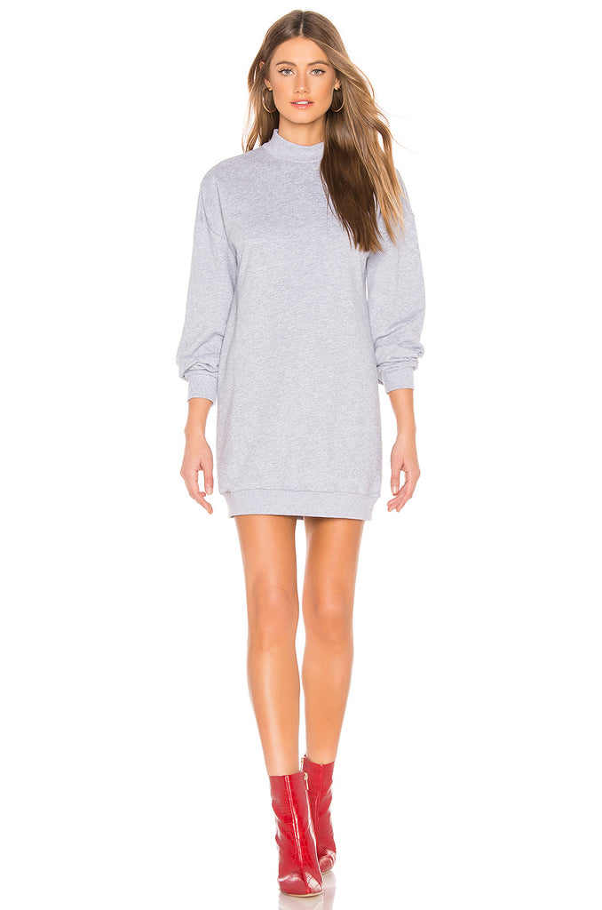 About Us Sweatshirt Dress, XL