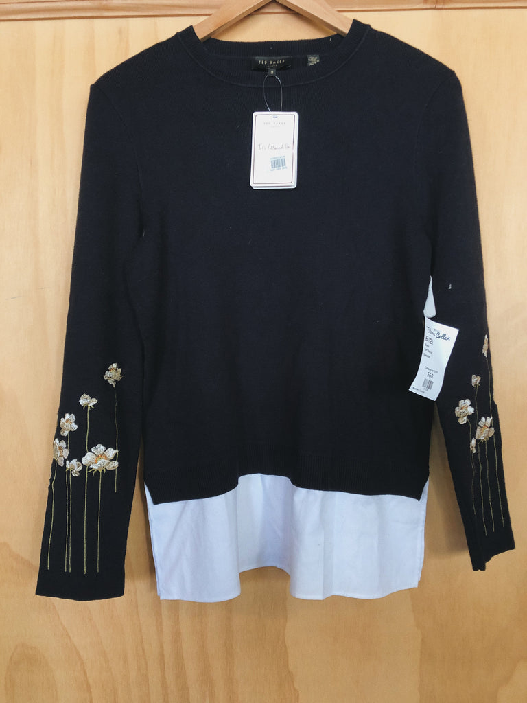 Ted Baker Sweater in Navy, S