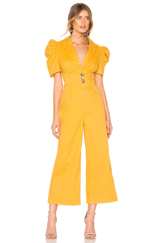 C/MEO Collective Subscribe Jumpsuit in Marigold, S