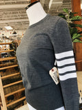 Thom Browne Sweater in Grey, 2