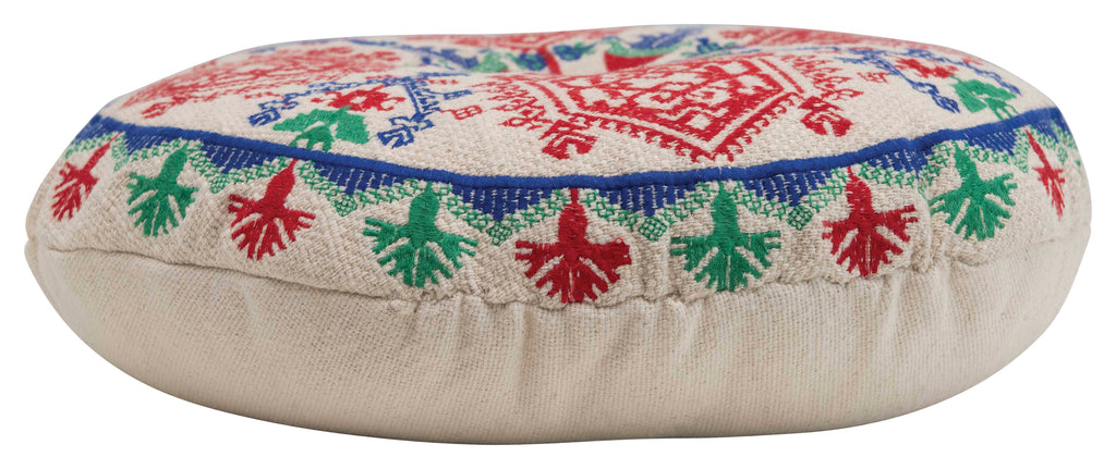 Scandi Embroidered Pillow