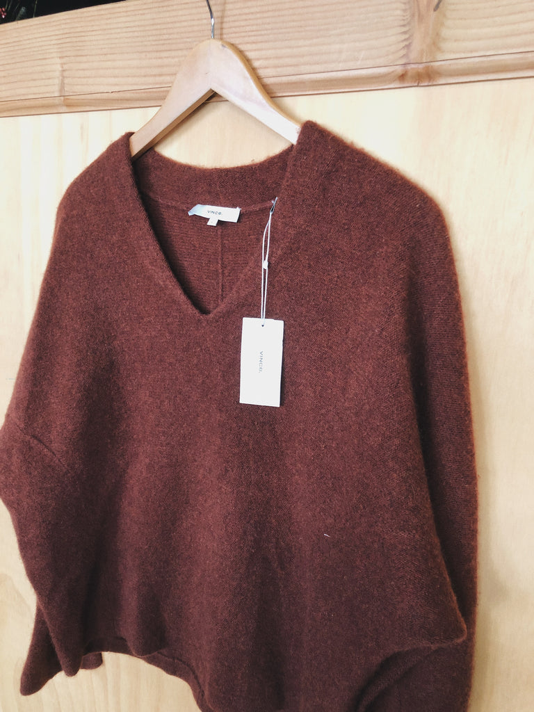 Vince Sweater in Russet, L