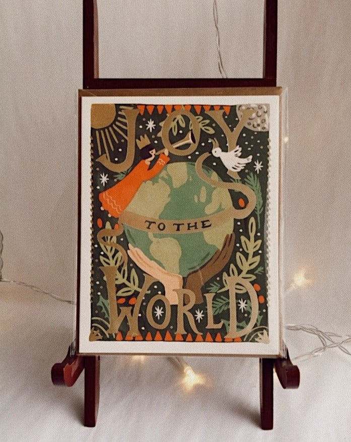 Joy to the World Rifle Paper Co. Greeting Card
