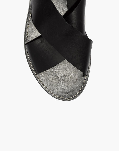 Madewell Boardwalk Crossover Sandals, 8.5