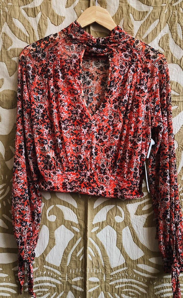 Poppy Free People Shirt, S