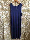 Navy Lucky Brand Dress, L