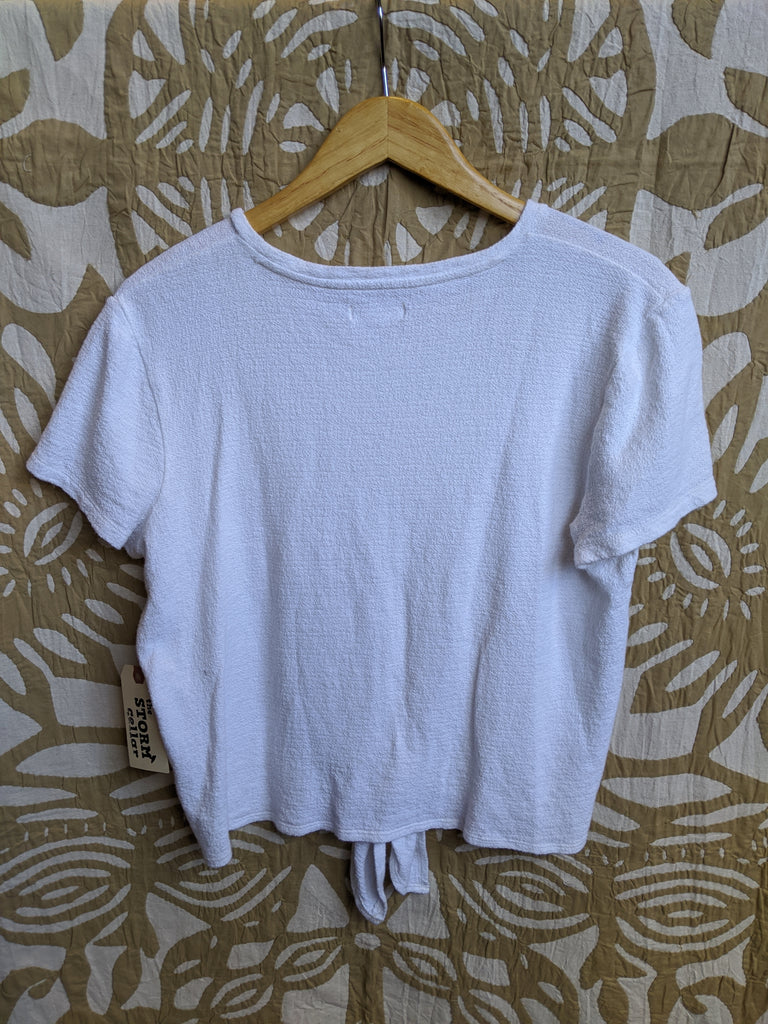 White Madewell Top, L