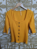 Marigold free people Top, M