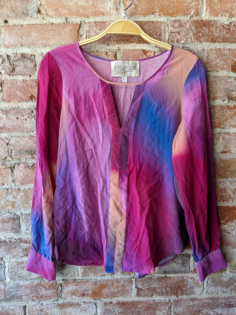 Rory Beca Silk Shirt, XS