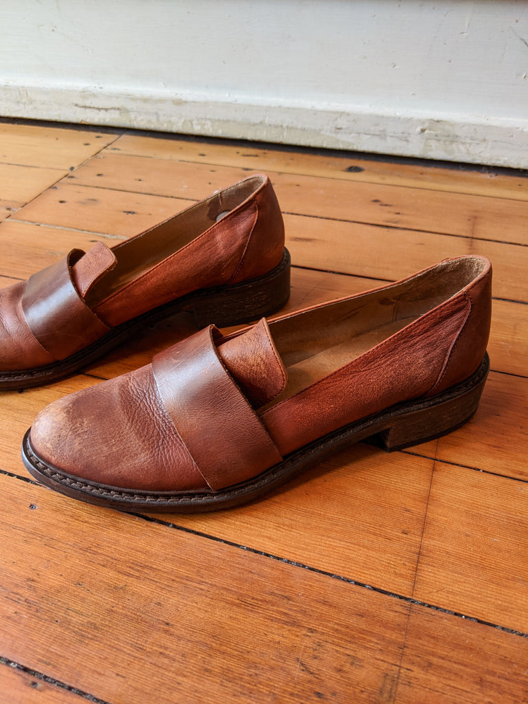 Free People Merit Loafers, 9
