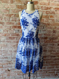 White/Blue alice + olivia Dress, 2