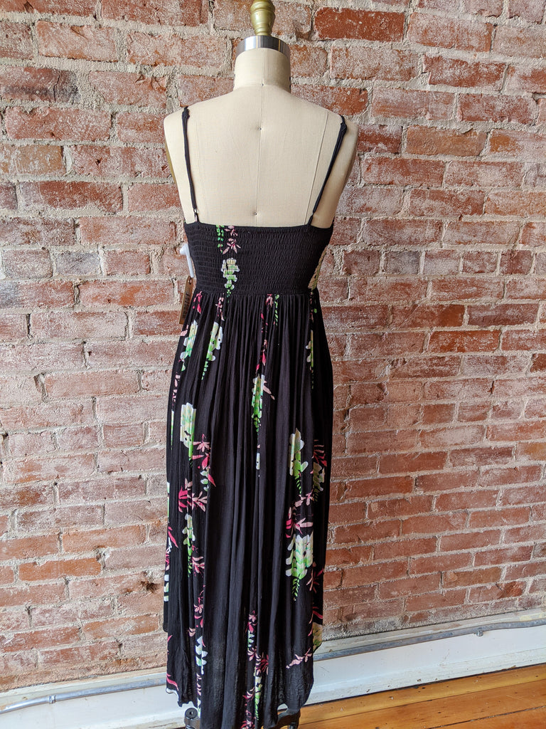 free people Smocked-top Maxi Dress, XS
