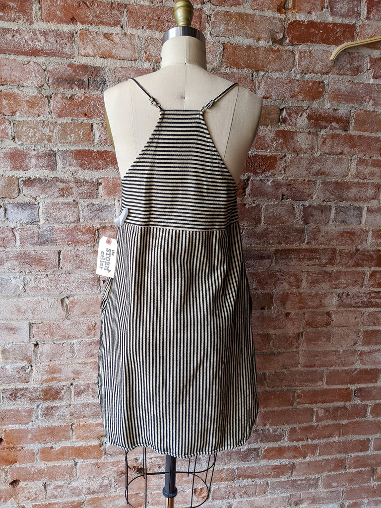 Madewell Cotton Shift Dress in Ticking Stripe, 0