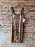 Bardot Gold Foil Dress, 10/L