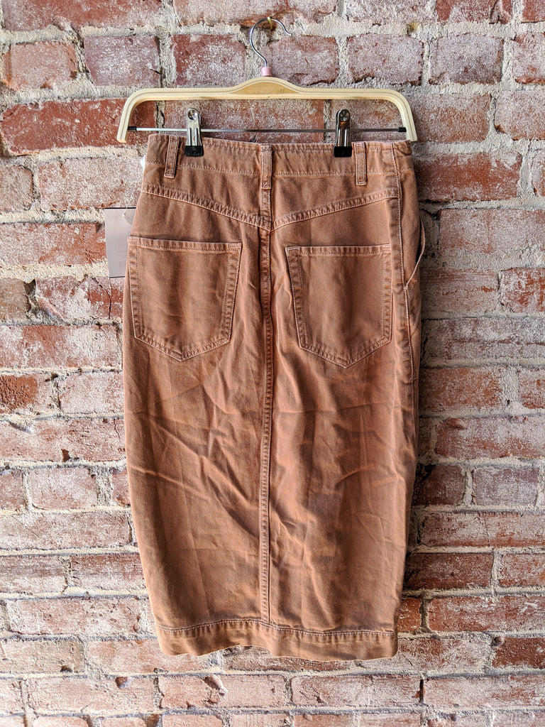 free people Mid-Length Utility Skirt, 4