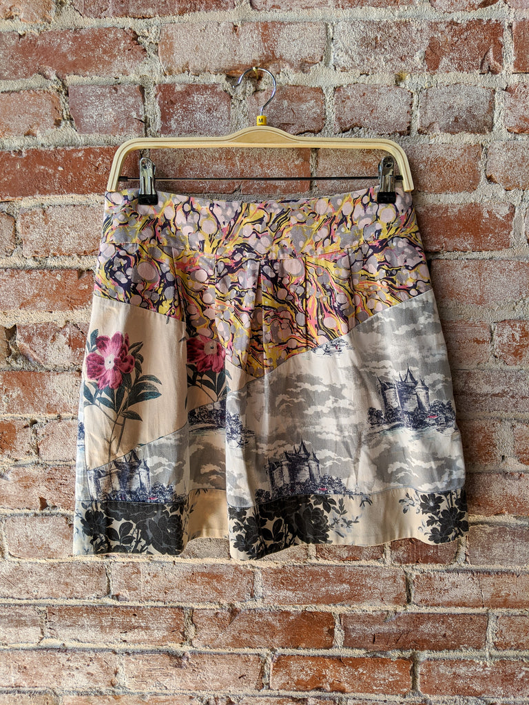 Leifnotes Mixed-Media Skirt, 8