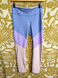 Outdoor Voices Leggings in Pastel Colorblock, S