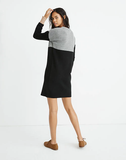 Colorblock Madewell Sweater Dress