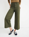 Madewell Emmett Wide-Leg Crop Pants, 16p