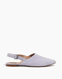Madewell Remi Slingback Flats in Lilac, 8