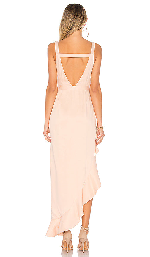 Dusty Pink Privacy Please Gown, M