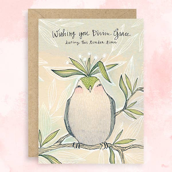 """Wishing You Divine Grace"" Greeting Card"