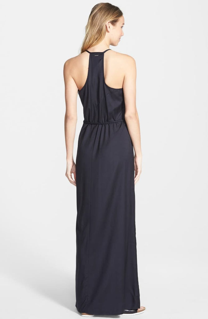 Element Village Maxi Dress in Black. S