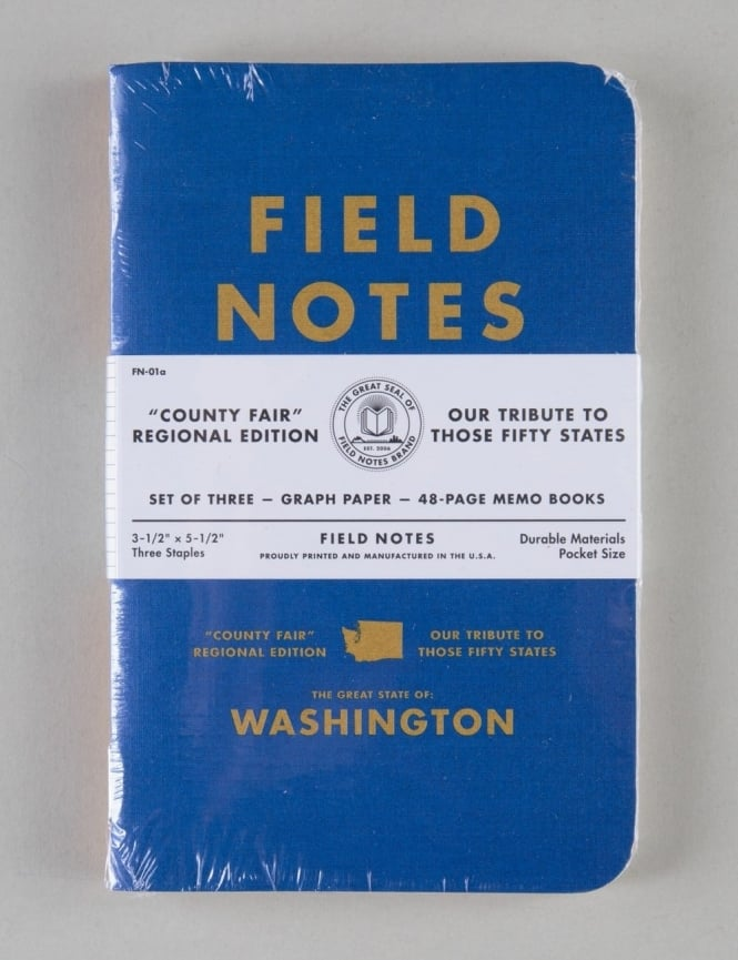 County Fair - WA Field Notes Graph Paper Notebook, Set of 3