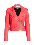IRO Leather Moto Jacket, 4 (36)