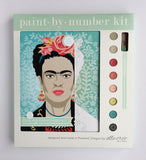 Paint-by-number Kit Frida With Flowers