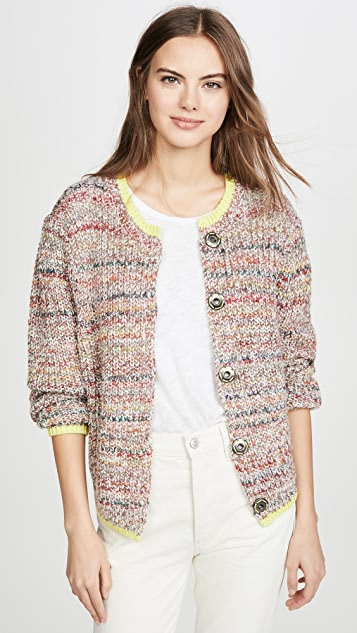 free people Walk On By Cardigan in Ivory, XS