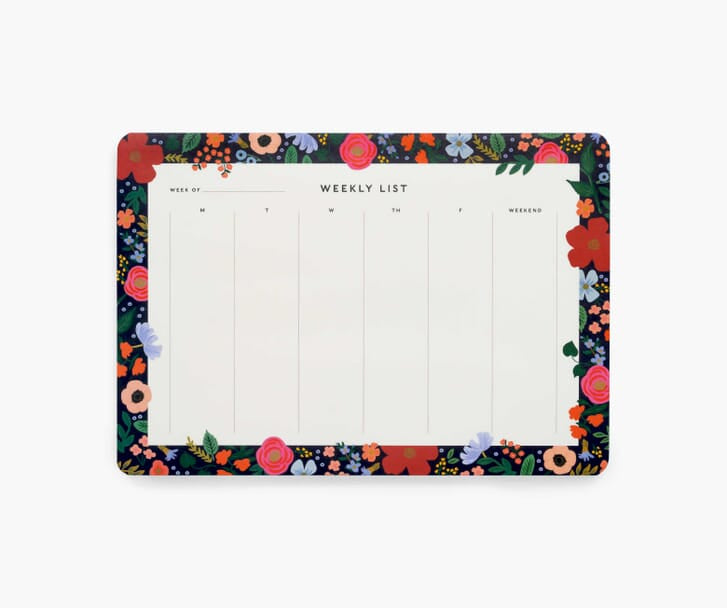 Wild Rose Rifle Paper Co. Weekly Desk Pad