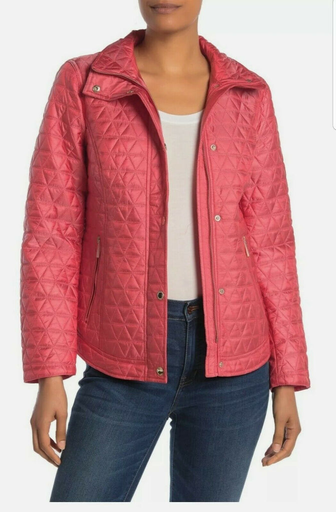 Michael Kors Puffer Jacket in Coral, S
